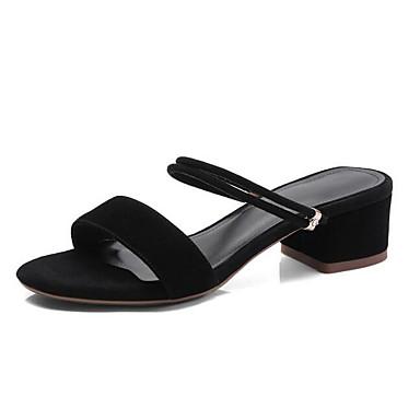 Vert Daim Talon Chaussures Femme Confort 06843302 Eté Bottier Noir Sandales Rose 7H6qw