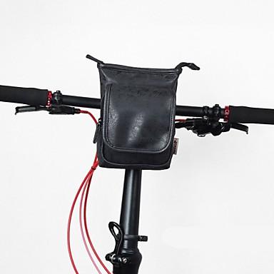 abordables Sacoches de Vélo-Sacoche de Guidon de Vélo Sac à bandoulière 10 pouce Portable Cyclisme pour Tous Téléphone Portable Marron Noir Rouge Vélo tout terrain / VTT Décontracté Hors piste