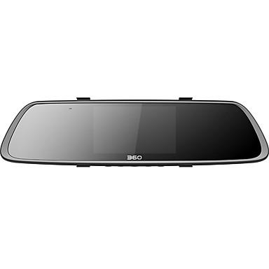 tanie Samochód Elektronika-360 360M302 1080P HD / z tylną kamerą Rejestrator samochodowy 140 stopni Szeroki kąt Sony CCD 4.3 in Monitor LCD TFT Dash Cam z Wi-Fi / Czujnik przyspieszenia / Tryb parkingowy Rejestrator samochodowy