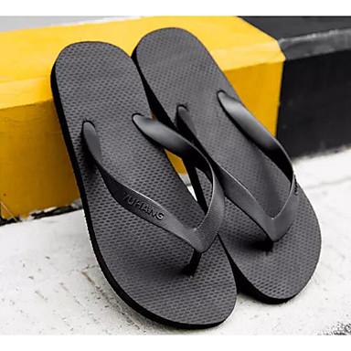 69faa5c5fdc Γυναικεία Παπούτσια άνεσης PVC Καλοκαίρι Παντόφλες & flip-flops Επίπεδο  Τακούνι Μαύρο / Γκρίζο / Κόκκινο