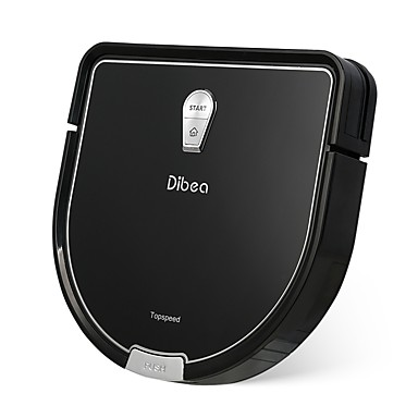 cheap Smart Robots-Dibea Robotic Vacuums Cleaner D960 Remote Controlled Dry Mopping Wet Mopping 4G WIFI Automatic cleaning Spot Cleaning Edge Cleaning