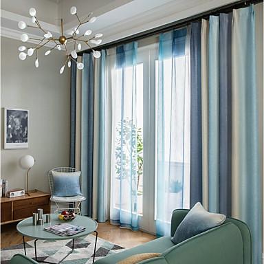 Mediterranean Zavjese Zavjese Dvije zavjese Zavjesa / Zamračenje / Living Room