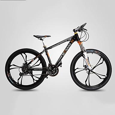 voordelige Fietsen-Mountain Bike Wielrennen 27 Speed 66.0 cm / 700CC SHIMANO M370 Olie schijfrem Geveerde voorvork Monocoque Normale Alumiiniseos / #
