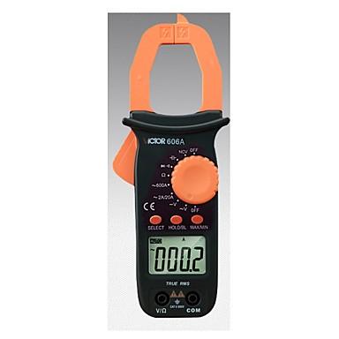 voordelige Test-, meet- & inspectieapparatuur-victor vc606 hoge precisie anti-brandende multifunctionele klem multimeter