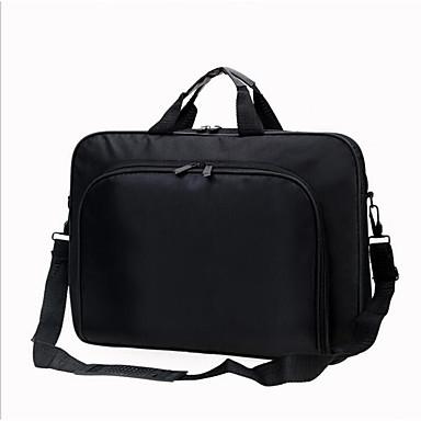 ジッパー ノートパソコン用バッグ ナイロン アウトドア ブラック / 男性用