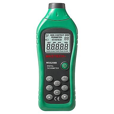 voordelige Test-, meet- & inspectieapparatuur-mastech ms6208b lcd digitale laser foto toerenteller tpm meter niet contact tacometro rotatiesnelheid 50rpm-99999rpm