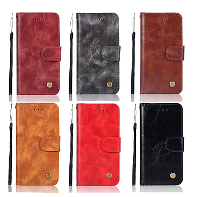 Θήκη Za Huawei Huawei Honor 10 / Honor 9 / Huawei Honor 9 Lite Novčanik / Utor za kartice / sa stalkom Korice Jednobojni Tvrdo PU koža