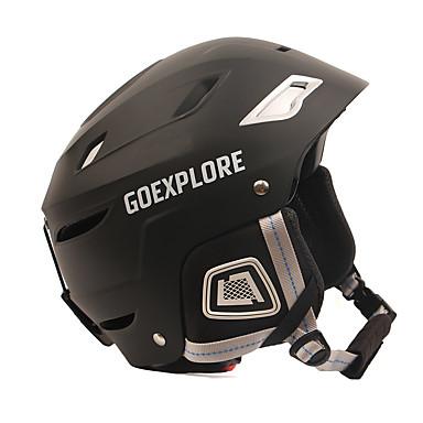 スキーヘルメット 男性用 女性用 スノーボード スキー 耐衝撃性 暖かい / 熱 サイズ調整機能 ESP+PC CE EN 1077 ASTM