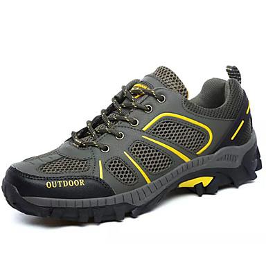 Homme Homme Homme Chaussures de confort Maille Printemps ; Automne Chaussures d'Athlétisme Randonnée Gris / Vert Véronèse / Vert 55f2f0