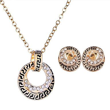 Žene Dragi kamen Sitne naušnice Ogrlice s privjeskom Vintage Style Jedinstven dizajn Europska Drevni Egipt Naušnice Jewelry Zlato Za Party Dar
