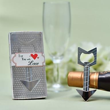billige Flaskegaver-Ikke-personalisert Formstøpt Zinklegering Flaskeåpnere Bryllup Flaskegave