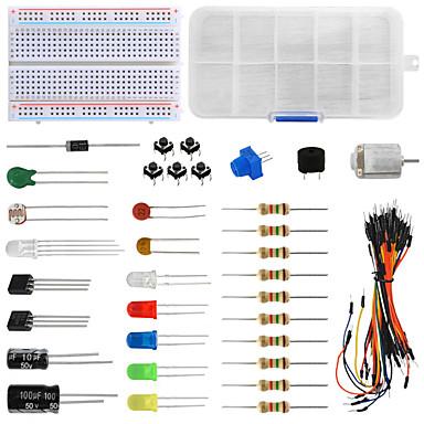 tanie Sprzet i akcesoria elektryczne-keyes uniwersalny zestaw elementów 503d dla elektroników hobbystycznych arduino