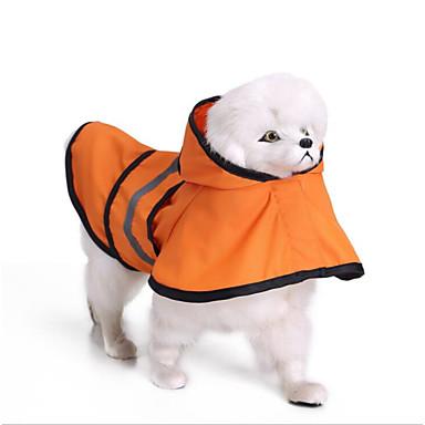 Psi Kabanica Odjeća za psa Prugasti uzorak Color block Jednostavan žuta Plava Terilen Kostim Za Shiba Inu Shih Tzu Sva doba Uniseks Običan Jedinstven dizajn
