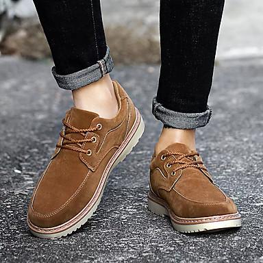 newest cf364 c0f75 ... meilleure vente dans le monde 《 Homme Chaussures Chaussures Chaussures  de confort Daim Automne Décontracté Oxfords