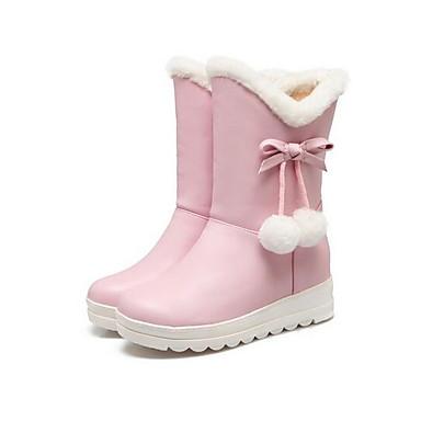 Adattabile Per Donna Fashion Boots Pu (poliuretano) Autunno Inverno Stivaletti Piatto Bianco - Nero - Rosa #06955583