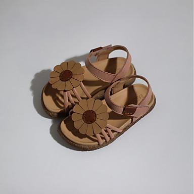 da662c4cc Boys    Girls  Shoes Faux Leather Summer Comfort Sandals for Toddler Beige    Pink