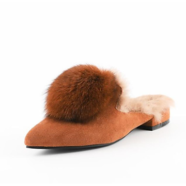 f795c1f6de3 Χαμηλού Κόστους Γυναικεία Παπούτσια-Γυναικεία Γούνα Κουνελιού / Σουέτ  Χειμώνας Γλυκός / Μινιμαλισμός Μοκασίνια &