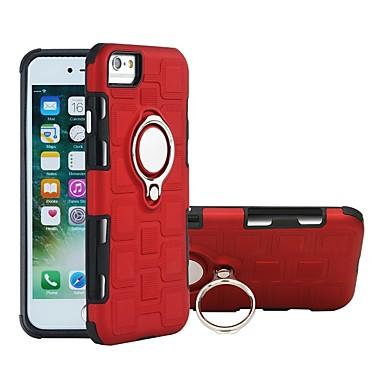 Θήκη Za Apple iPhone 8 Plus / iPhone 8 / iPhone 7 Plus Otporno na trešnju / Prsten držač Stražnja maska Jednobojni Mekano TPU