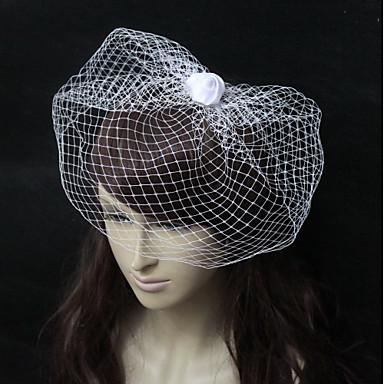 Net Fascinators s Cvijet 1 komad Vjenčanje / Special Occasion Glava