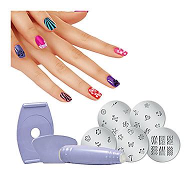 1set Eko-friendly materijal Nail Art Drill Kit Za Najbolja kvaliteta Flower Serija nail art Manikura Pedikura pomodan / Moda Dnevno