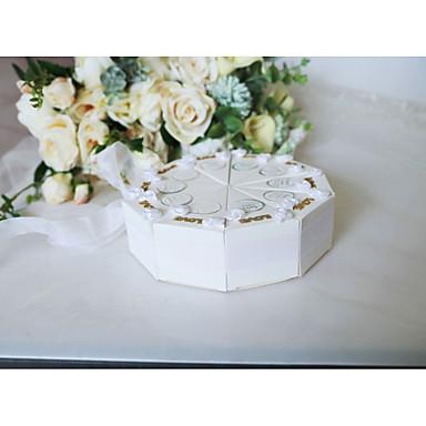 Lenonice Silk Like Satin / Art Paper Naklonost Holder s Uzorak / print / Uzde Milost Kutije / Poklon kutije - 10pcs