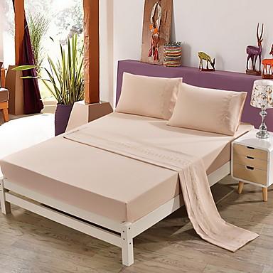 bomuld quiltet geometrisk 1pc flad ark / 1pc monteret ark / 2pcs pudebetræk sengetæppe