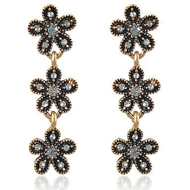 Žene Naušnice Set Klasičan Cvijet Moda Naušnice Jewelry Crn Za Party Dnevno 1set