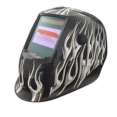 widescreen bijela vatra uzorak solarne automatsko fotoelektrično zavarivanje maska
