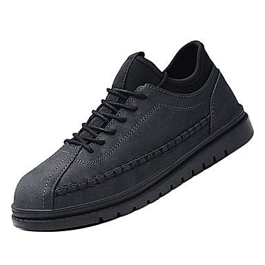 Adattabile Per Uomo Scarpe Comfort Pu (poliuretano) Inverno Sneakers Nero - Grigio - Marrone #07023145