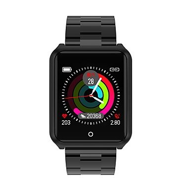 906adb53e006f ... سوار الذكية Android iOS بلوتوث رياضات ضد الماء رصد معدل ضربات القلب  أصفر فاتح رمادي داكن عداد الخطى تذكرة بالاتصال متتبع النوم تذكير المستقرة  ساعة منبهة