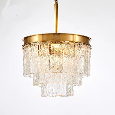 QIHengZhaoMing 5-Light sputnjik Lusteri Ambient Light Electroplated Metal Glass 110-120V / 220-240V Meleg fehér
