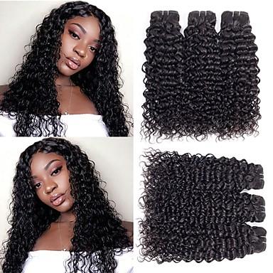 6バンドル マレーシアンヘア ストレート ウェーブ 人毛 未処理人毛 人間の髪編む ペニス増強 バンドル髪 8-28 インチ ブラック 人間の髪織り ソフト 最高品質 黒人女性用 人間の髪の拡張機能 / 8A