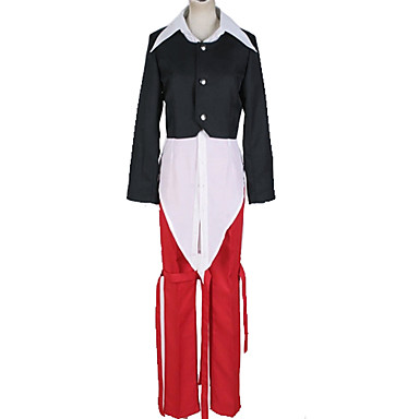 Inspirirana The King Of Fighters Cosplay / Iori Yagami Anime Cosplay nošnje Japanski Cosplay Suits Color block / Jednostavan Top / Hlače / More Accessories Za Muškarci / Žene