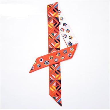 abordables Accessoires pour Chaussures-1 Pièce Polyester Echarpe / Ruban Femme Hiver Quotidien Orange / Rouge / Rose