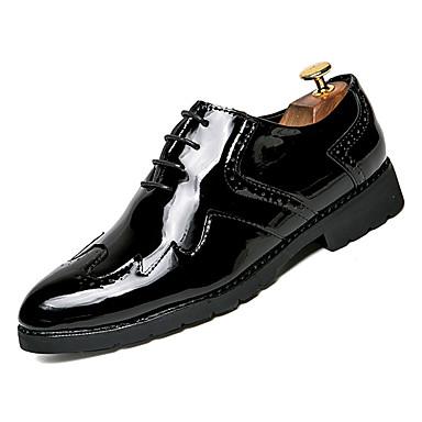 Muškarci Udobne cipele PU Jesen Ležerne prilike Oksfordice Nosite dokaz Zlato / Crn