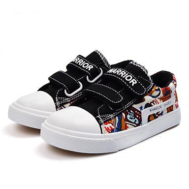 Bello Da Ragazzo Scarpe Di Corda Primavera Estate Scarpe Vulcanizzate Sneakers Nastro A Strappo Per Bambino - Per Ragazzi Nero - Blu #07077273