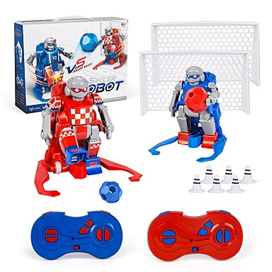 povoljno Roboti-RC robota Klinci elektronika / Učenje i obrazovanje / Noviteti 2.4G Tvrde plastike / Grade ABS plastike / plastika Hodanje / Igrati nogomet / Bežično Ne