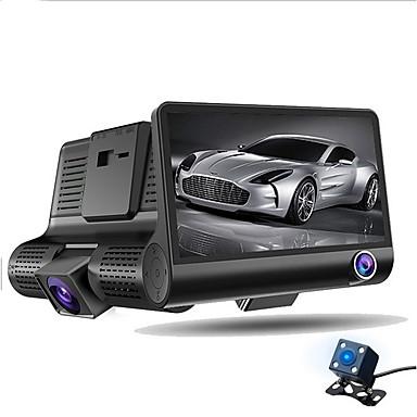 abordables DVR de Voiture-ziqiao a32 fhd 1080p voiture dvr 4 pouces dash cam 3 caméra de vision nocturne voiture dvr