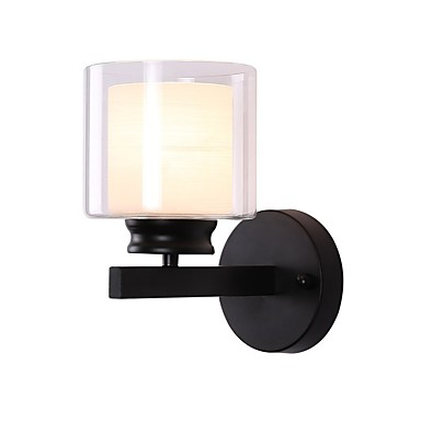 Mini Style / New Design Jednostavan / Suvremena suvremena Zidne svjetiljke Stambeni prostor / Spavaća soba Metal zidna svjetiljka 110-120V / 220-240V 60 W