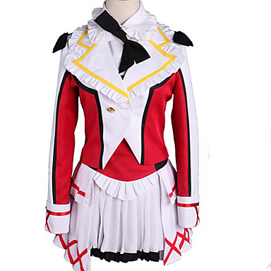 Inspirirana Ljubav uživo Cosplay Anime Cosplay nošnje Japanski Cosplay Suits Color block Kaput / Suknja / More Accessories Za Muškarci / Žene