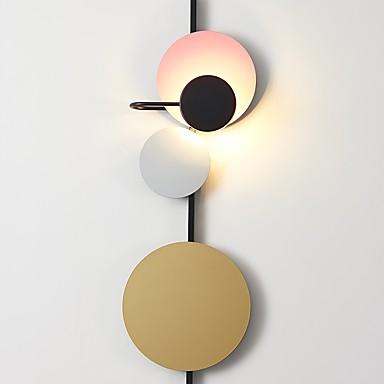 JLYLITE Cute / Creative Modern Contemporary Flush Mount wall Lights Living Room / Study Room / Office Metal Wall Light 110-120V / 220-240V / LED Integrated