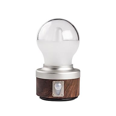 abordables Lampes & Lanternes de Camping-Lanternes & Lampes de tente 230 lm LED XP-G2 1 Émetteurs Automatique 5 Mode d'Eclairage avec Câble USB Portable Design nouveau Camping / Randonnée / Spéléologie Café