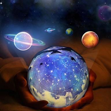 Ogromny led noční světlo hvězdné nebe magie hvězda měsíc planeta projektor AL32