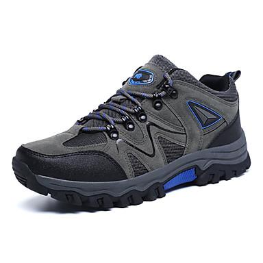 Ανδρικά Παπούτσια άνεσης PU Φθινόπωρο & Χειμώνας Καθημερινό Αθλητικά Παπούτσια Πεζοπορία Φορέστε την απόδειξη Γκρίζο / Καφέ / Πράσινο Χακί
