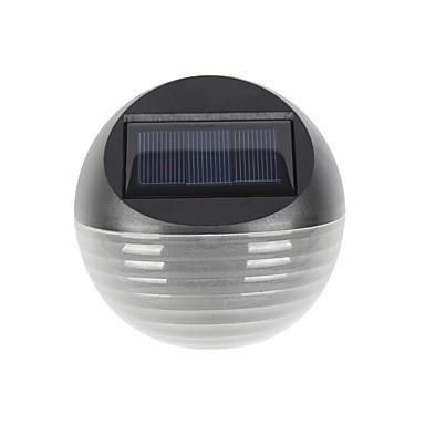 abordables Éclairage Extérieur-1pc 1 W Lampe murale solaire Imperméable / Solaire / Intensité Réglable RVB + chaud 2 V Eclairage Extérieur / Cour / Jardin 2 Perles LED