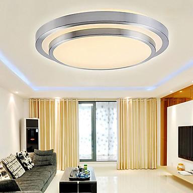 Takplafond Nedlys galvanisert PVC Mini Stil, LED 90-240V / 110-120V / 220-240V Varm Hvit / Hvit LED lyskilde inkludert / Integrert LED