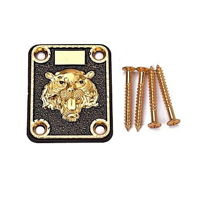 Dodatna oprema za električnu gitaru / Most legura cinka Električna gitara Glazbena oprema Instrument 6.45*5.5*0.4 cm