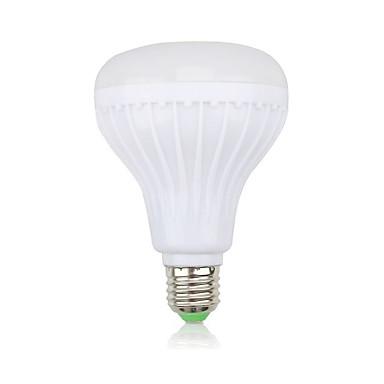 abordables Ampoules électriques-YWXLIGHT® 1pc 12 W Ampoules LED Intelligentes 1000 lm 28 Perles LED SMD Bluetooth Intensité Réglable Commandée à Distance RVB 100-240 V
