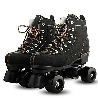 cheap Scooters, Skateboarding & Rollers-Roller Skates Adults' Well-ventilated, Durable, Wheels Light up Black, Yellow Roller Skating