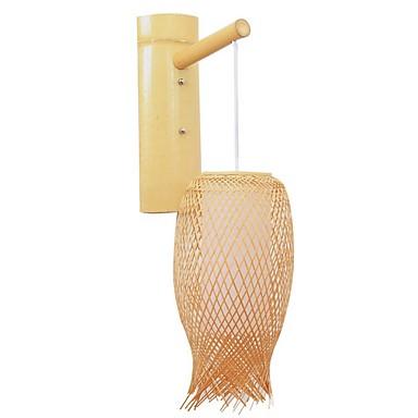Slatko Suvremena suvremena Zidne svjetiljke Study Room / Office Wood / Bamboo zidna svjetiljka 220-240V 40 W